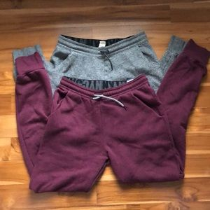 H&M Girls joggers (2)
